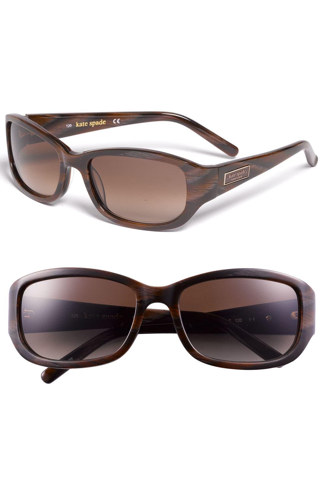 Alternate Image 1 Selected - kate spade new york 'diana' 54mm sunglasses