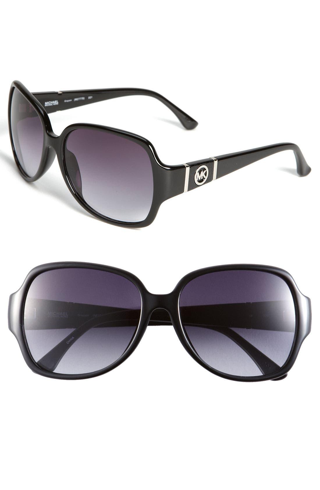 Main Image - MICHAEL Michael Kors 56mm Square Sunglasses