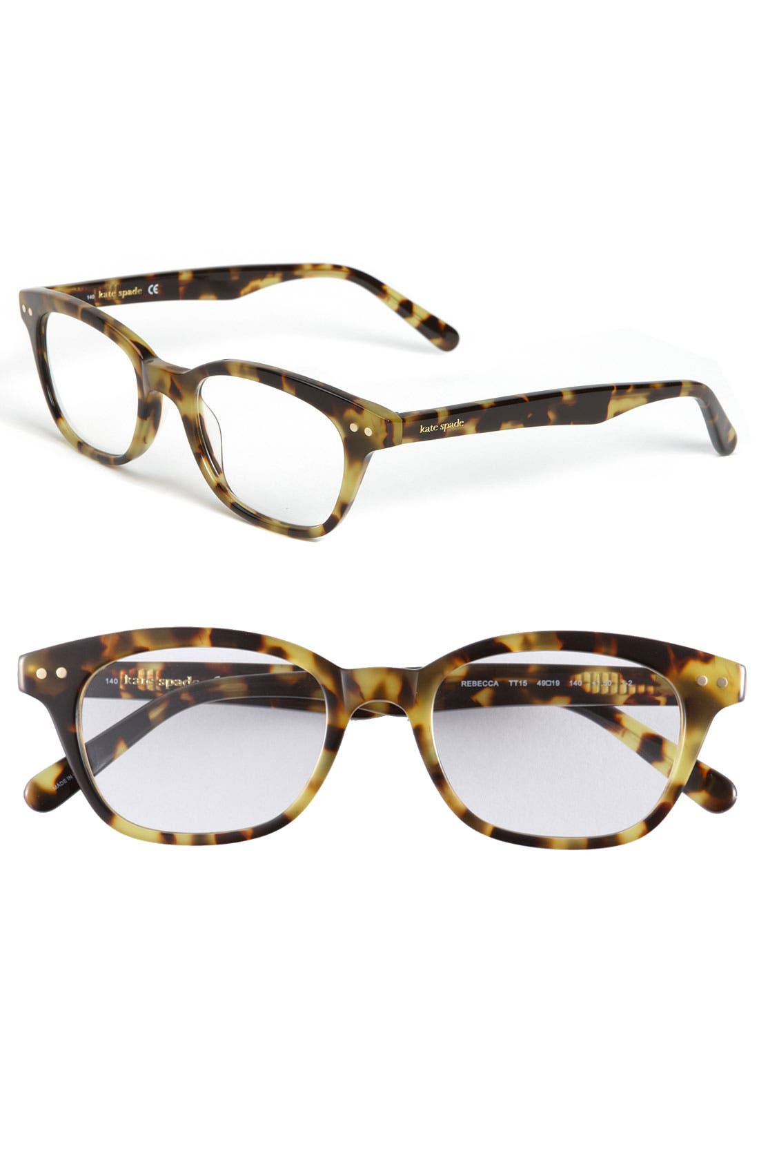 Alternate Image 1 Selected - kate spade new york rebecca 49mm reading glasses