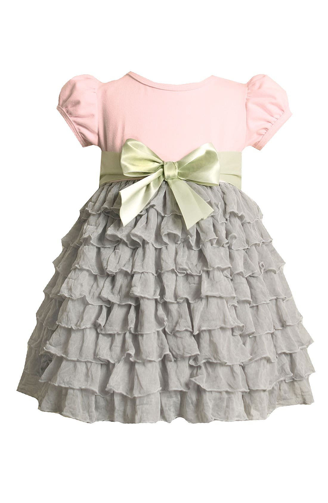 Alternate Image 1 Selected - Iris & Ivy Tiered Dress (Toddler)