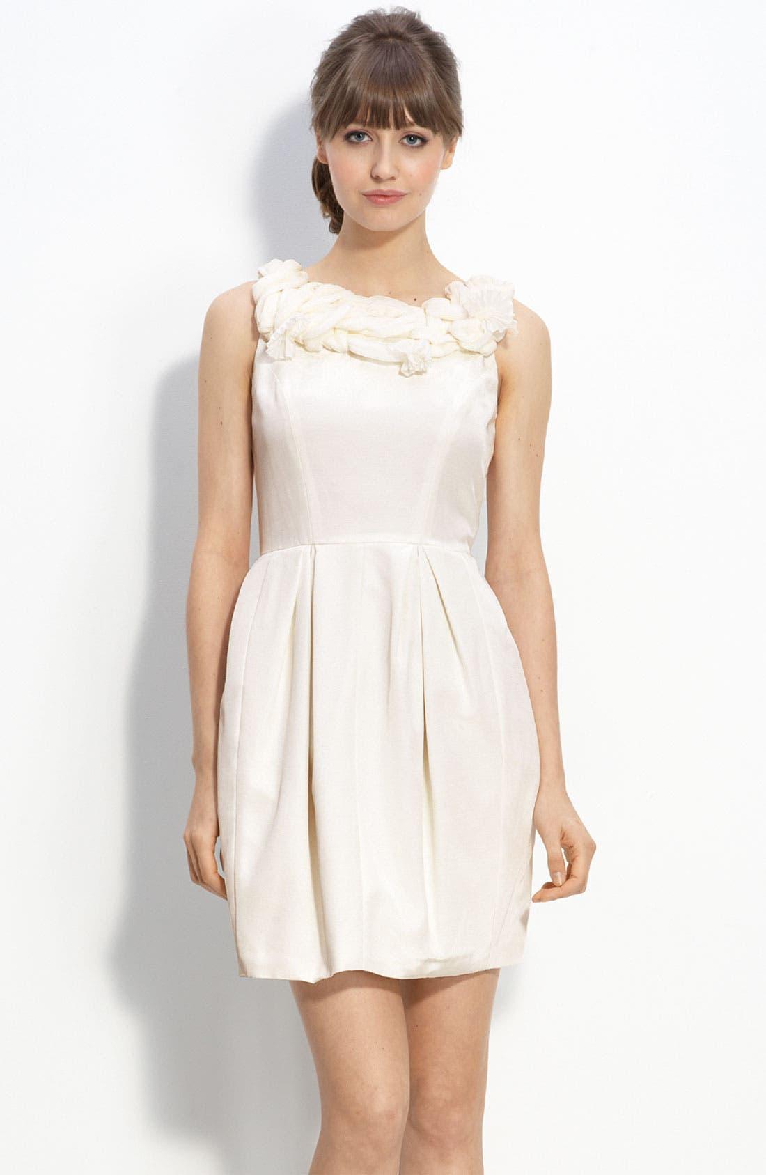 Main Image - Taylor Dresses Bengaline Party Dress