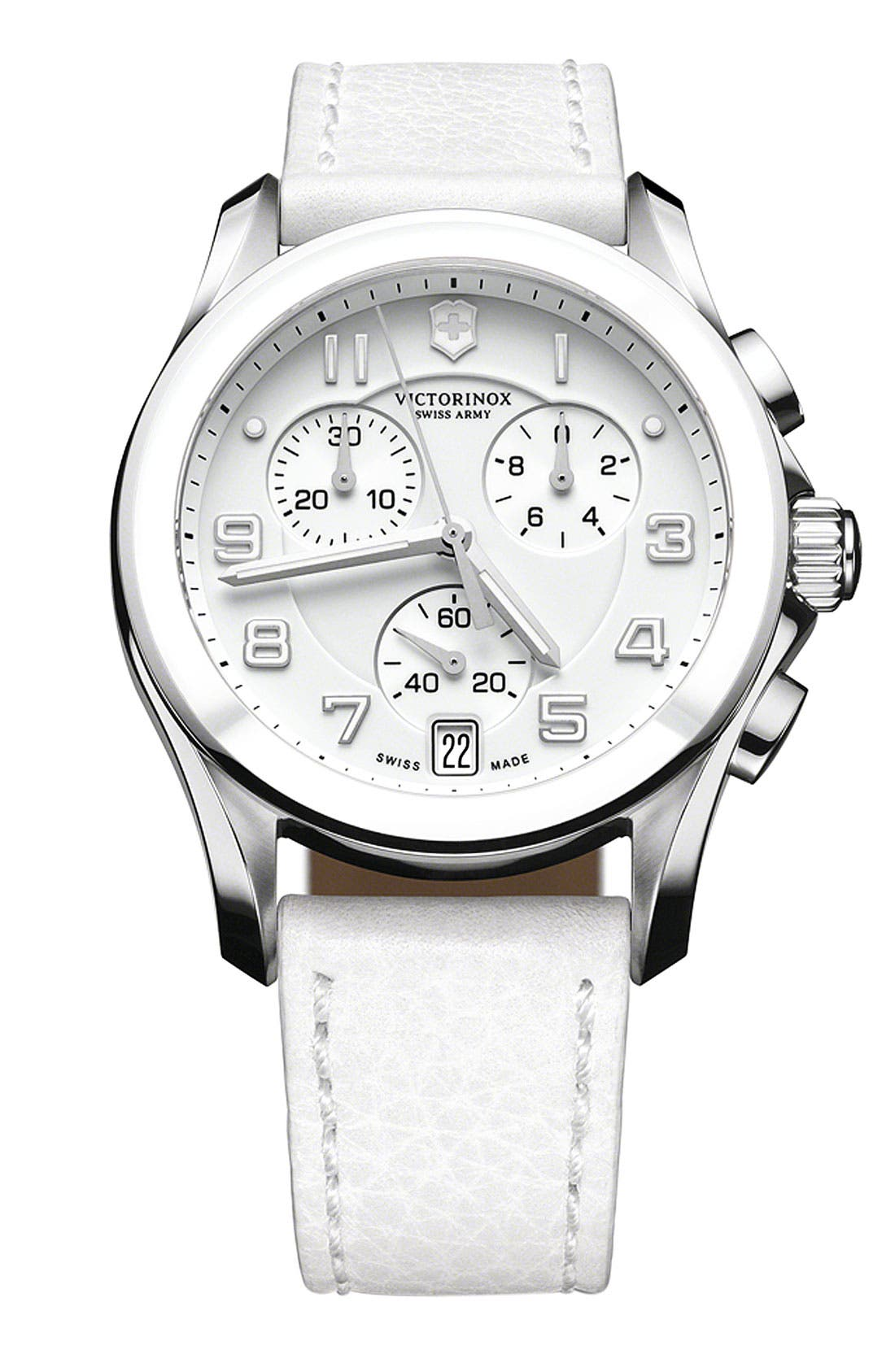 Alternate Image 1 Selected - Victorinox Swiss Army® 'Chrono Classic' Ceramic Bezel Watch
