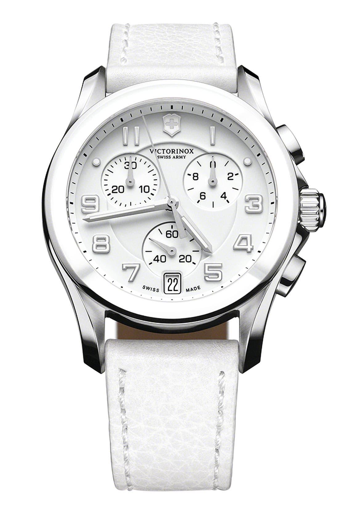 Main Image - Victorinox Swiss Army® 'Chrono Classic' Ceramic Bezel Watch