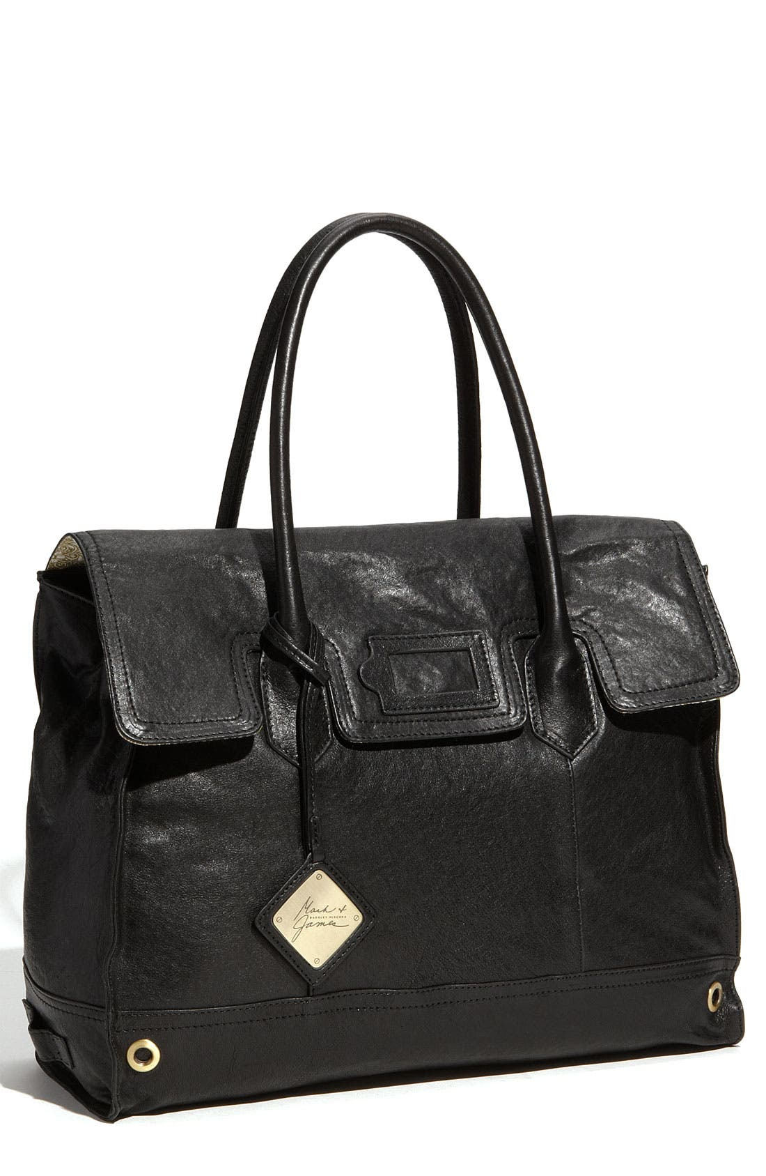 Alternate Image 1 Selected - Mark & James by Badgley Mischka 'Mina' Leather Tote
