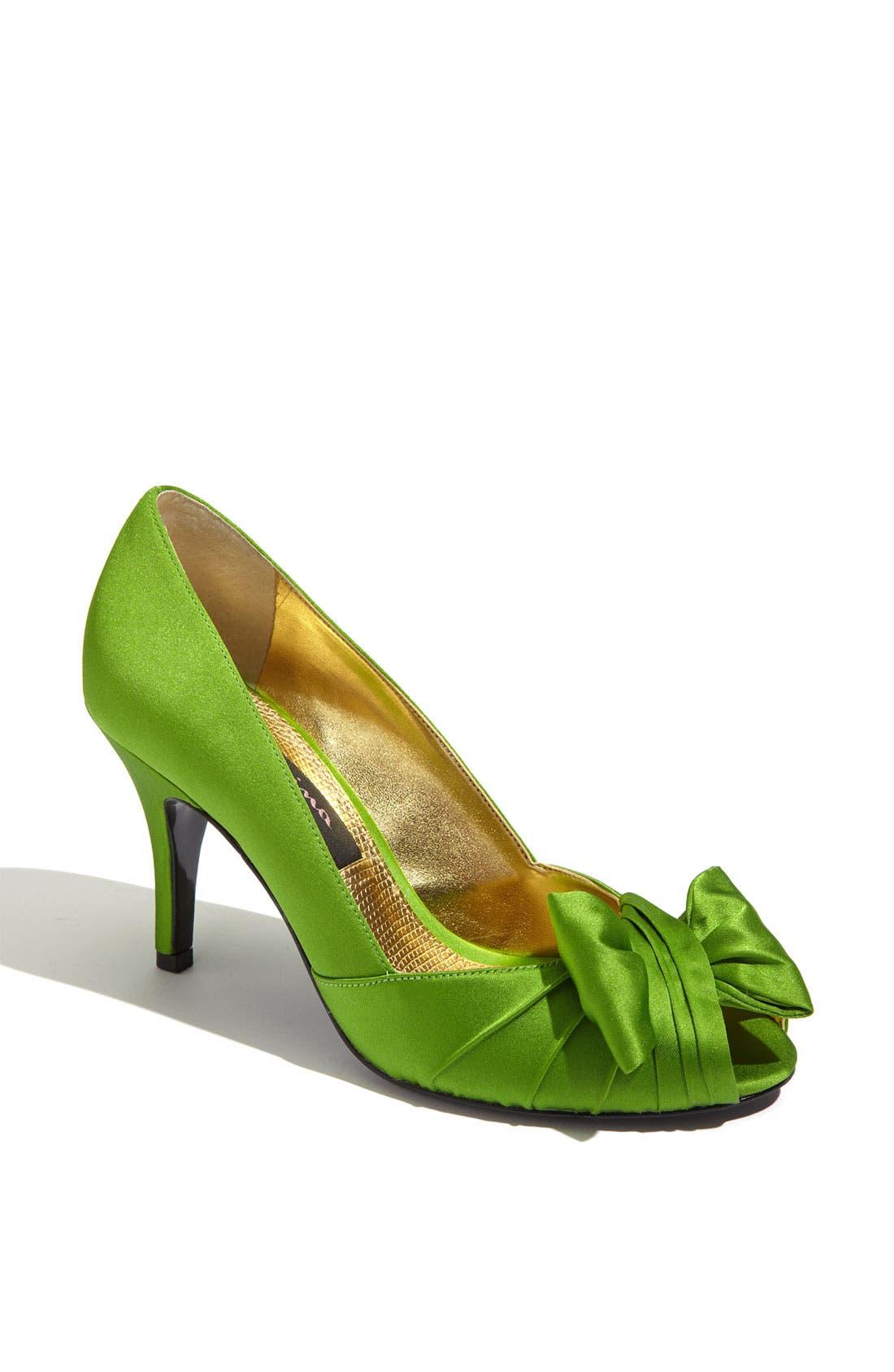 Alternate Image 1 Selected - Nina 'Forbes' Peep Toe Pump (Women)
