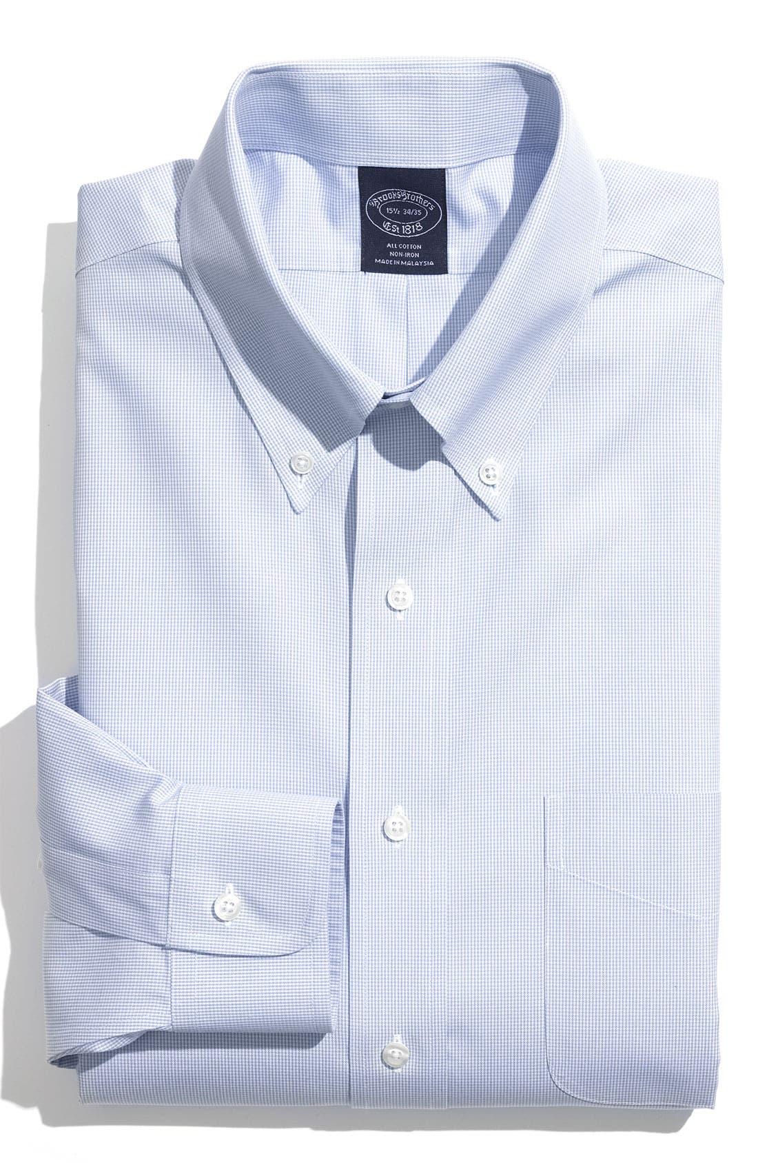 Main Image - Brooks Brothers Regular Fit Non-Iron Dress Shirt