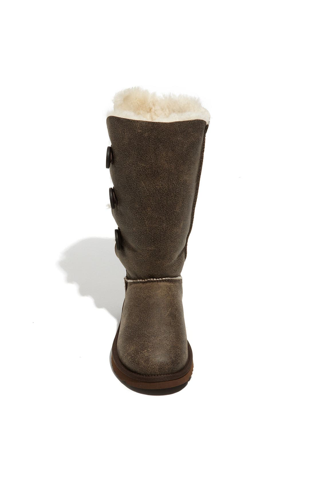 Alternate Image 3  - UGG® Australia 'Bailey Button Triplet' Boot (Bomber) (Women)