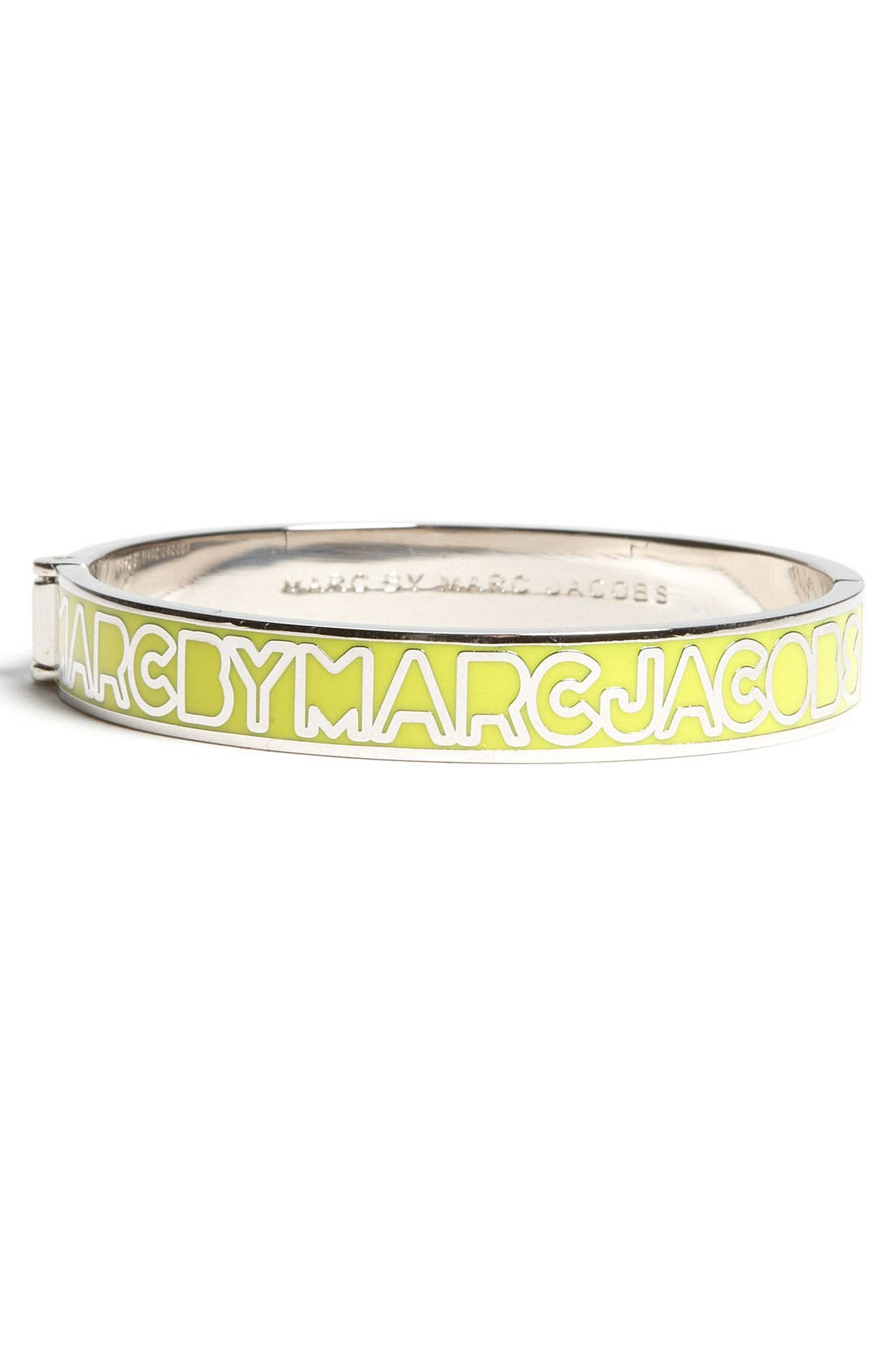 Alternate Image 1 Selected - MARC BY MARC JACOBS Skinny Logo Bangle