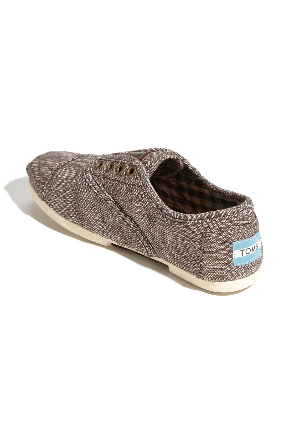 Alternate Image 2  - TOMS 'Cordones' Metallic Slip-On (Women)