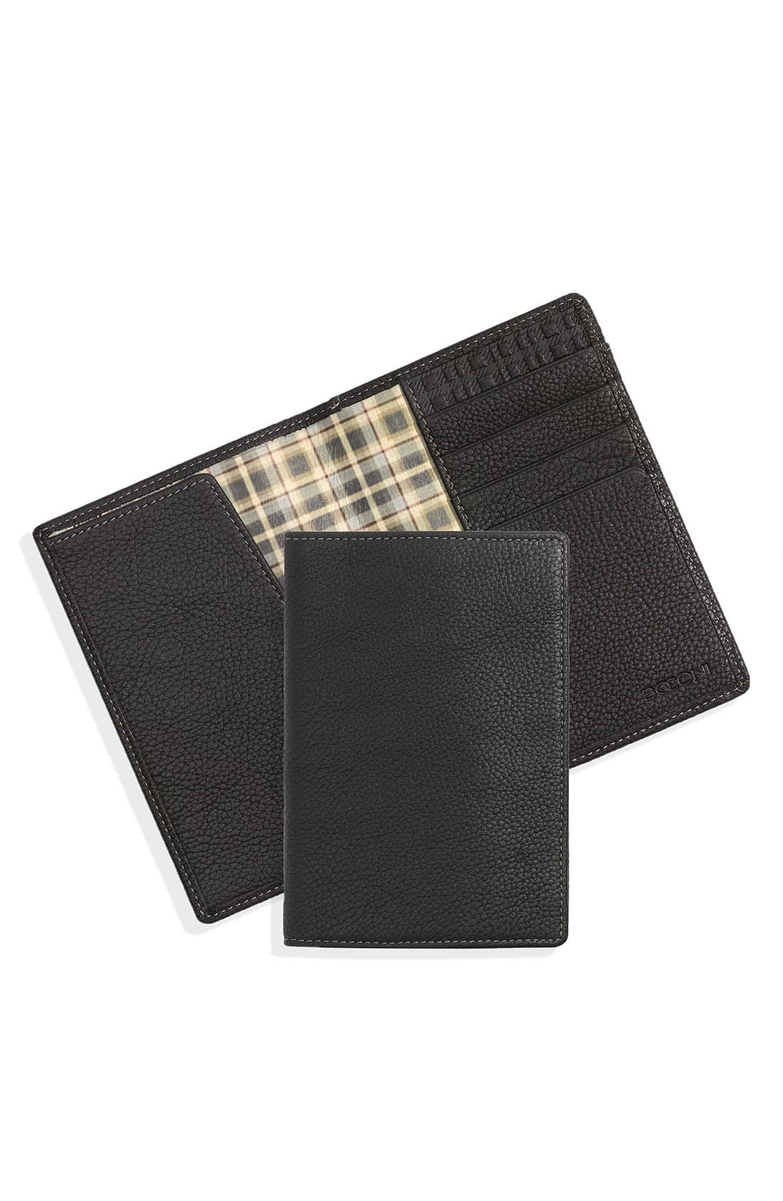 Passport Case,                         Main,                         color, Black