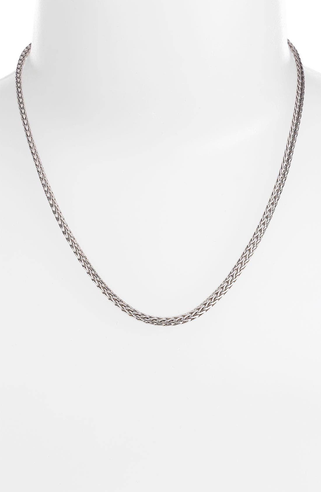 Alternate Image 1 Selected - John Hardy 'Classic Chain' Slim Necklace