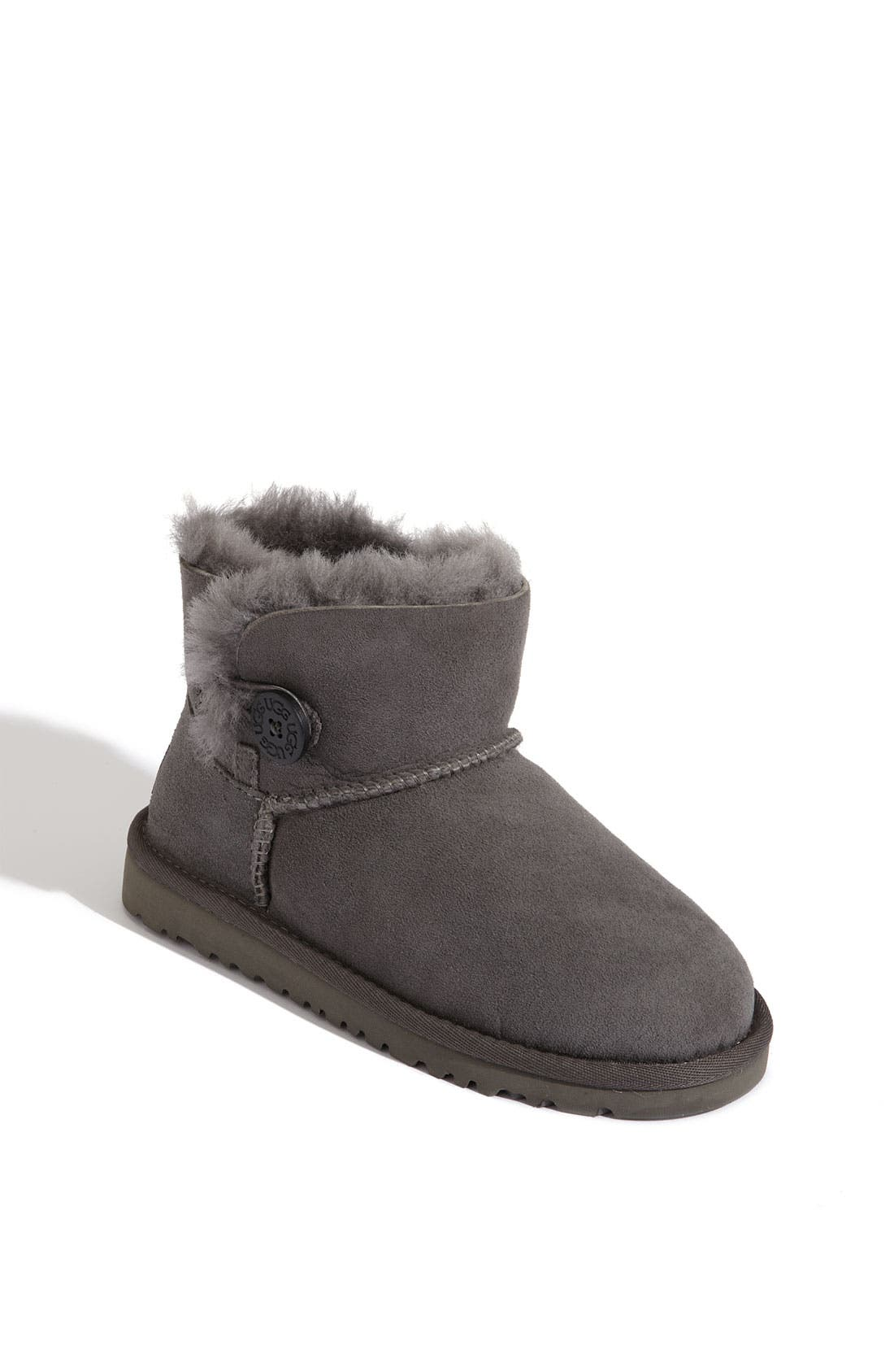 Alternate Image 1 Selected - UGG® Australia 'Mini Bailey' Button Boot (Walker, Toddler, Little Kid & Big Kid)