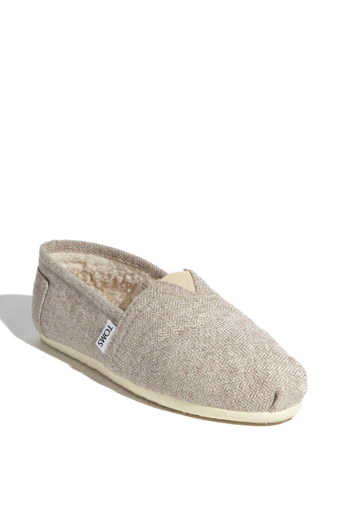 Alternate Image 1 Selected - TOMS Herringbone Fleece Slip-On (Women) (Exclusive)