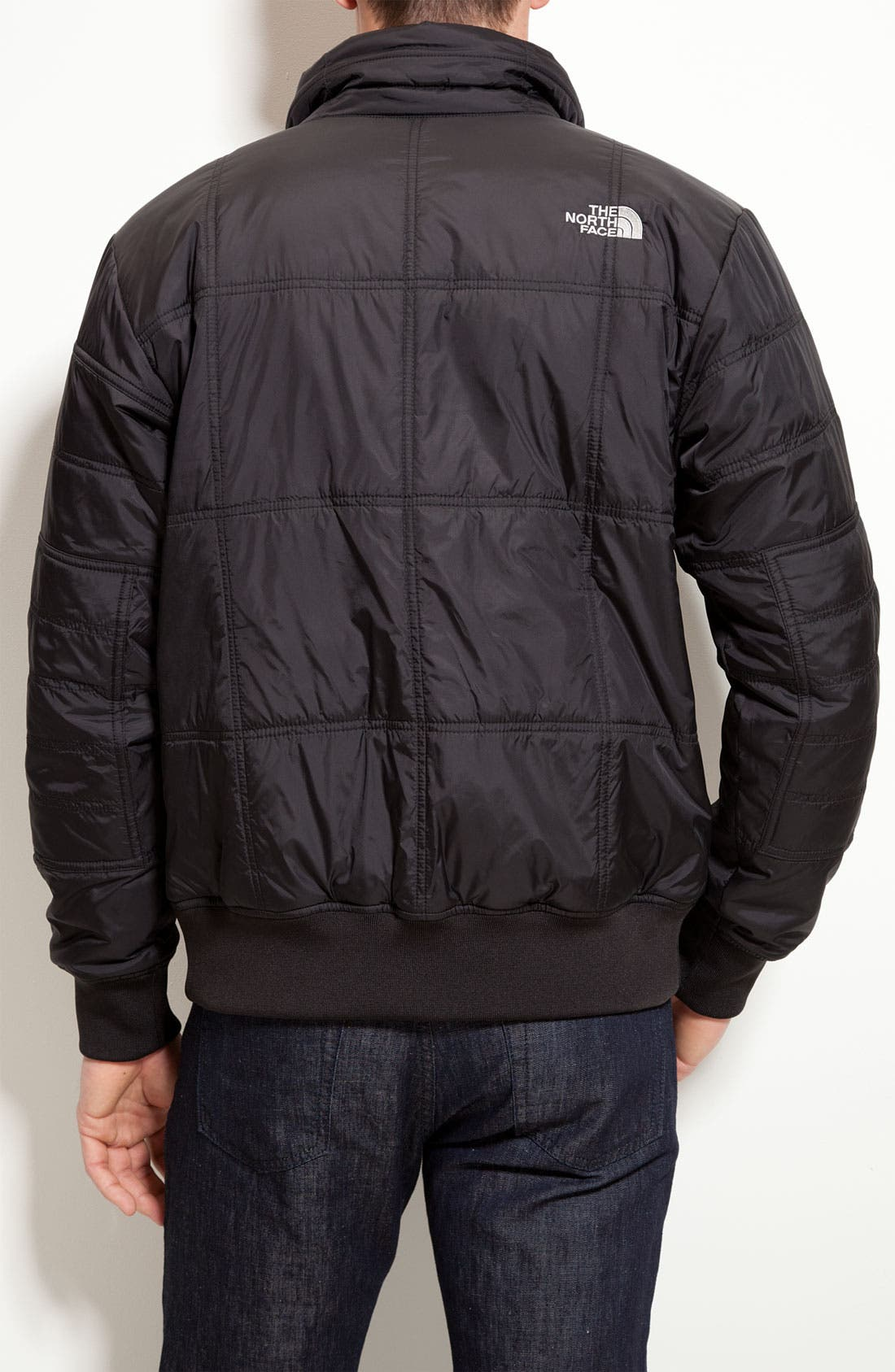 Alternate Image 2  - The North Face 'Boss' Quilted Bomber Jacket