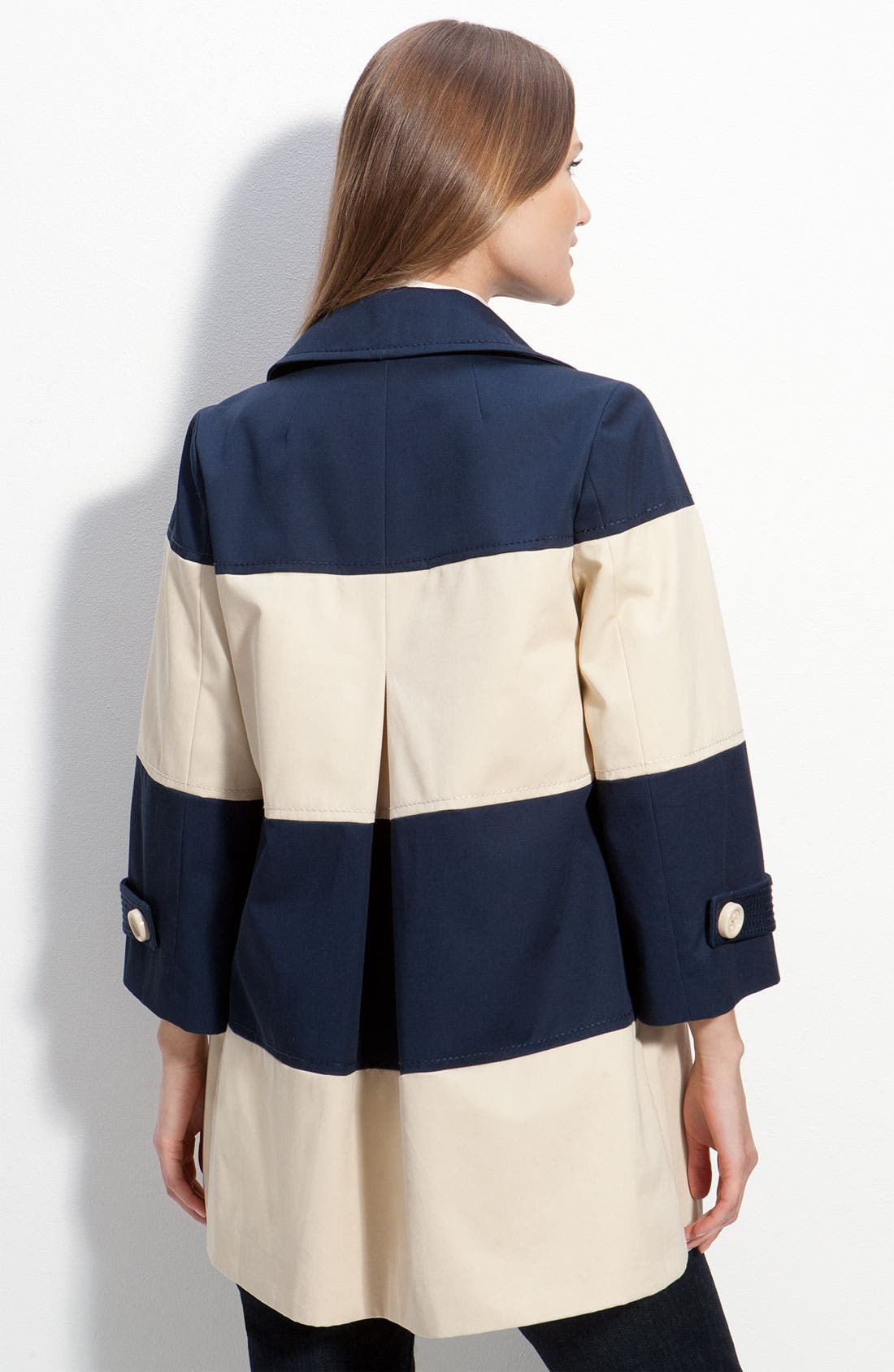 Alternate Image 2  - kate spade new york 'nera' colorblock coat
