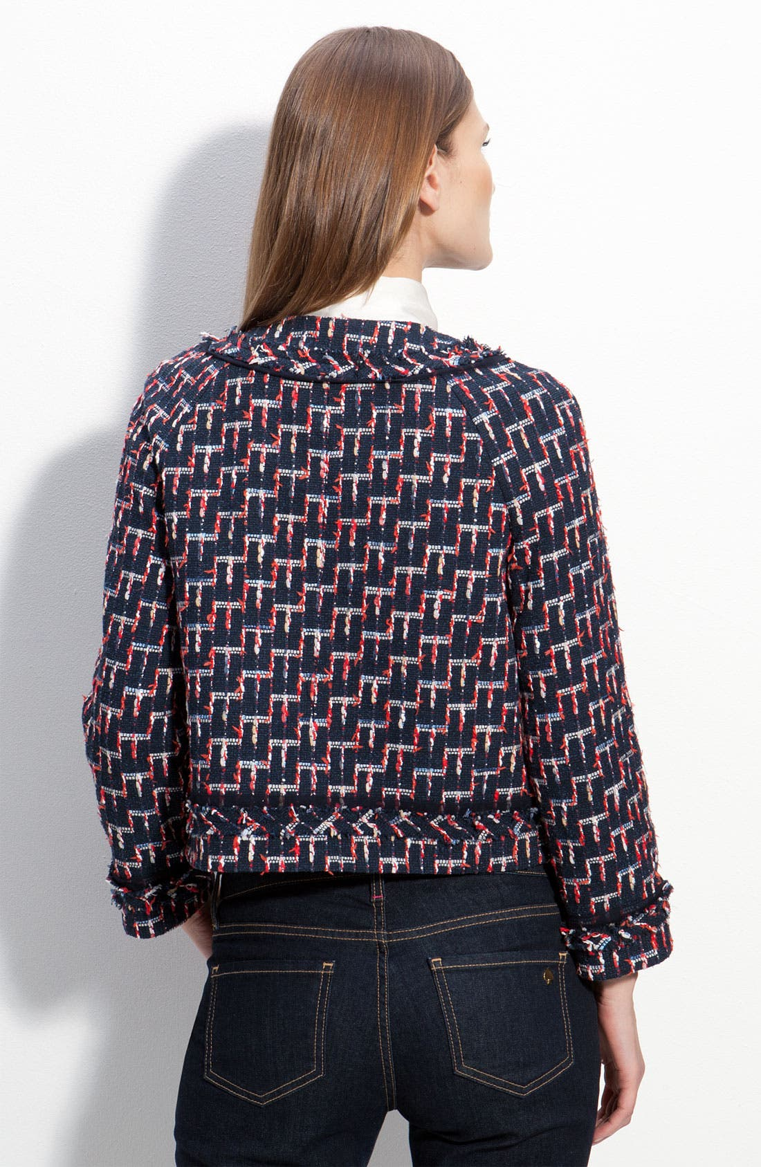 Alternate Image 2  - kate spade new york 'darby' tweed jacket