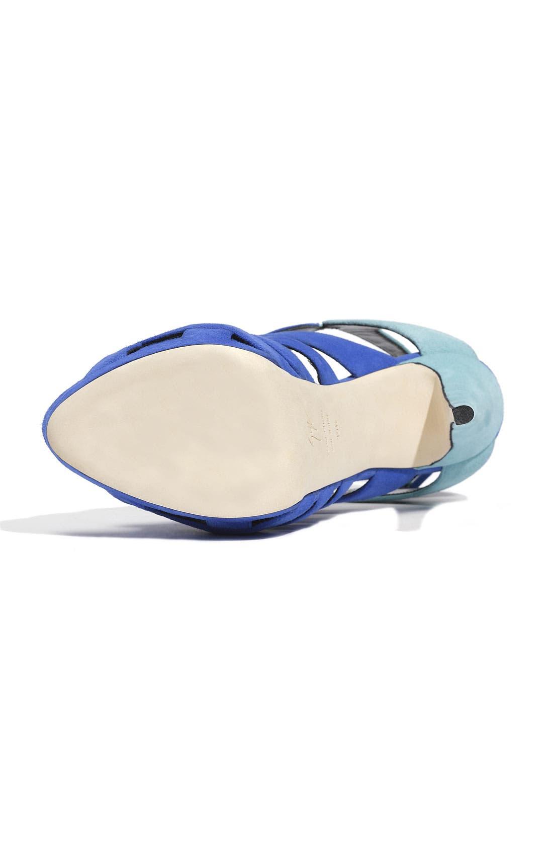 Alternate Image 4  - Giuseppe Zanotti Caged Sandal