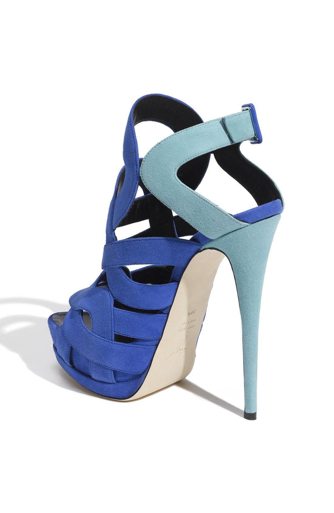 Alternate Image 2  - Giuseppe Zanotti Caged Sandal