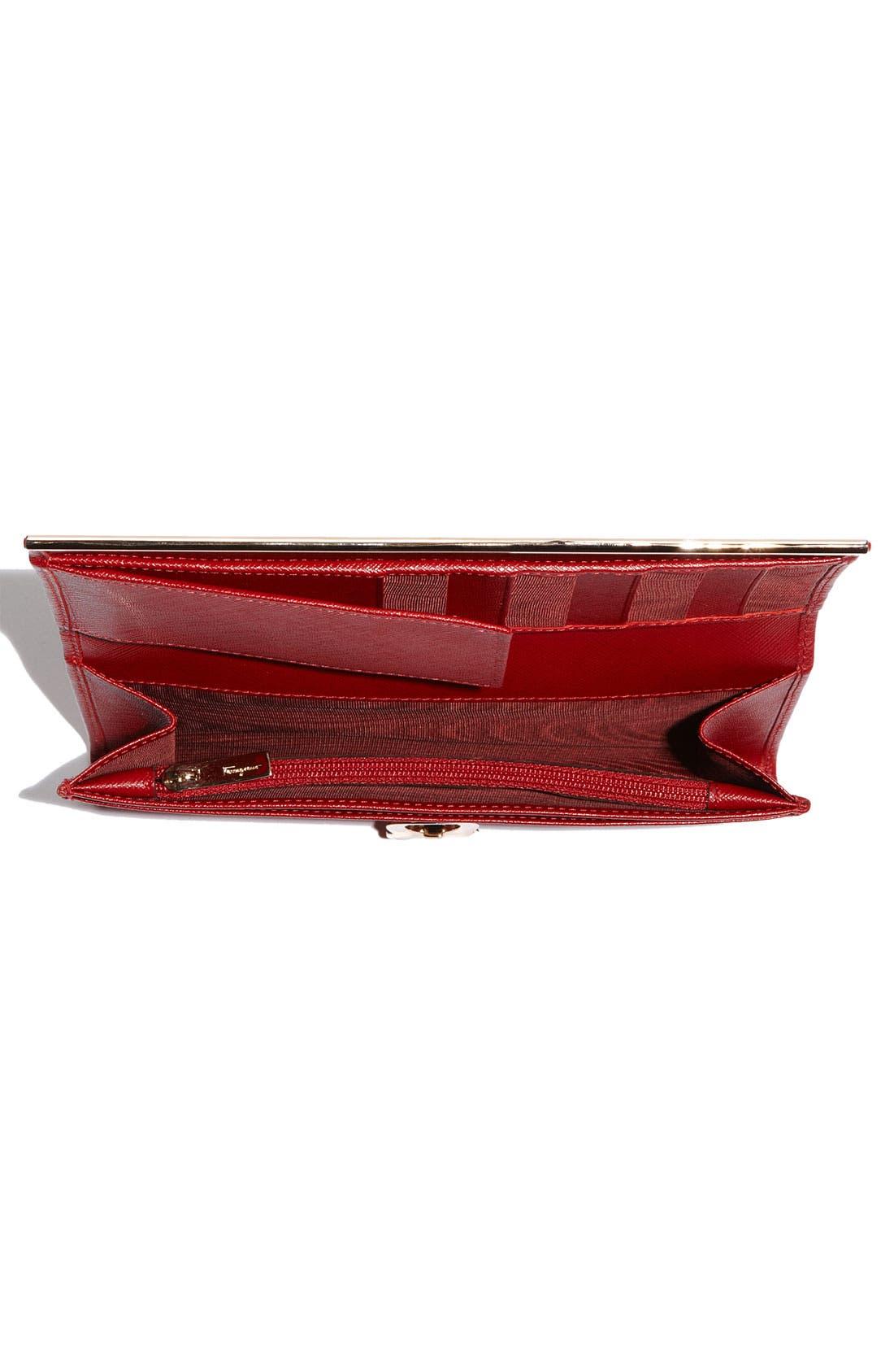 Alternate Image 3  - Salvatore Ferragamo 'Gancini Icona' Saffiano Leather Wallet