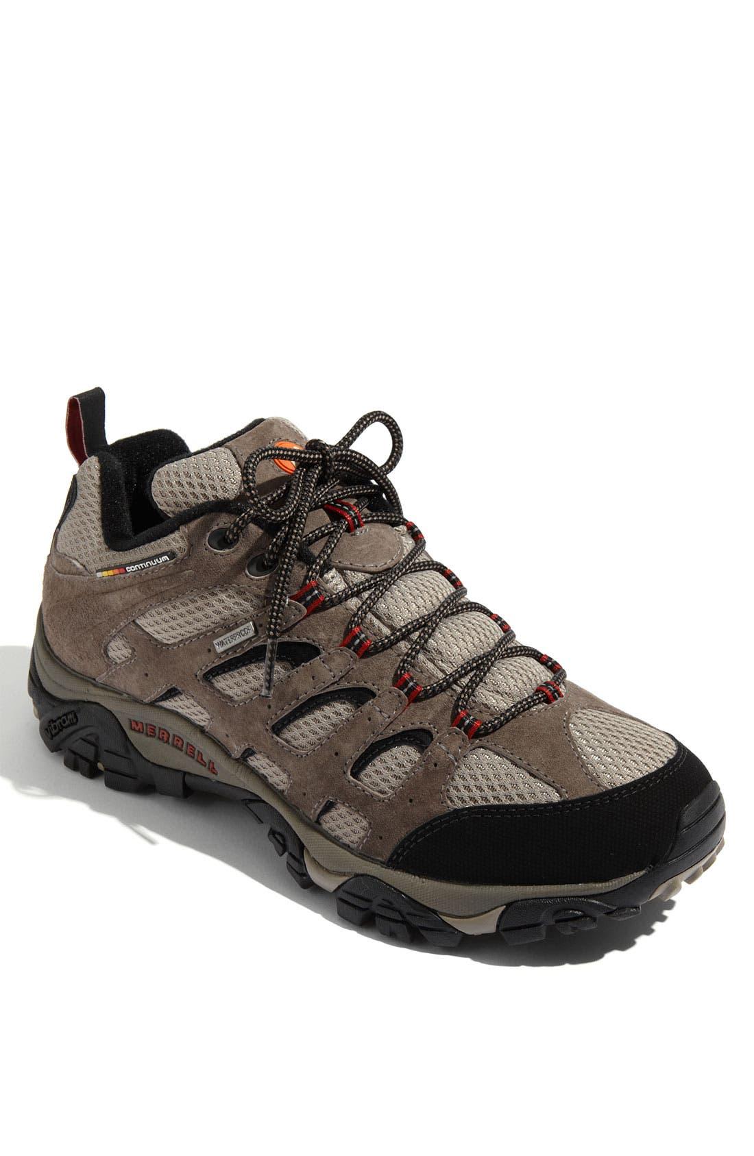 Main Image - Merrell 'Moab' Waterproof Hiking Shoe (Men)