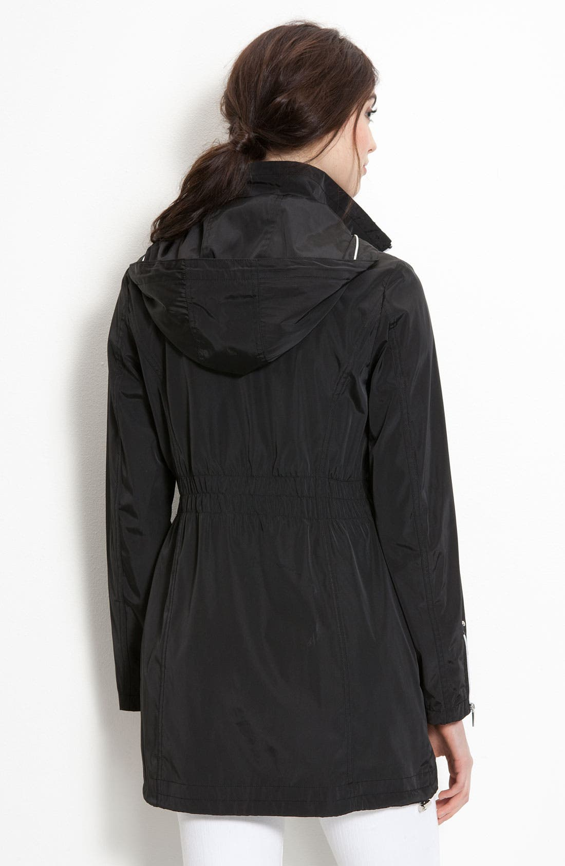 Alternate Image 2  - Laundry by Shelli Segal Hooded Anorak (Nordstrom Exclusive)