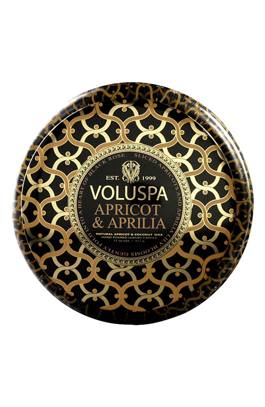 Alternate Image 1 Selected - Voluspa 'Maison Noir - Apricot & Aprilia' 2-Wick Scented Candle