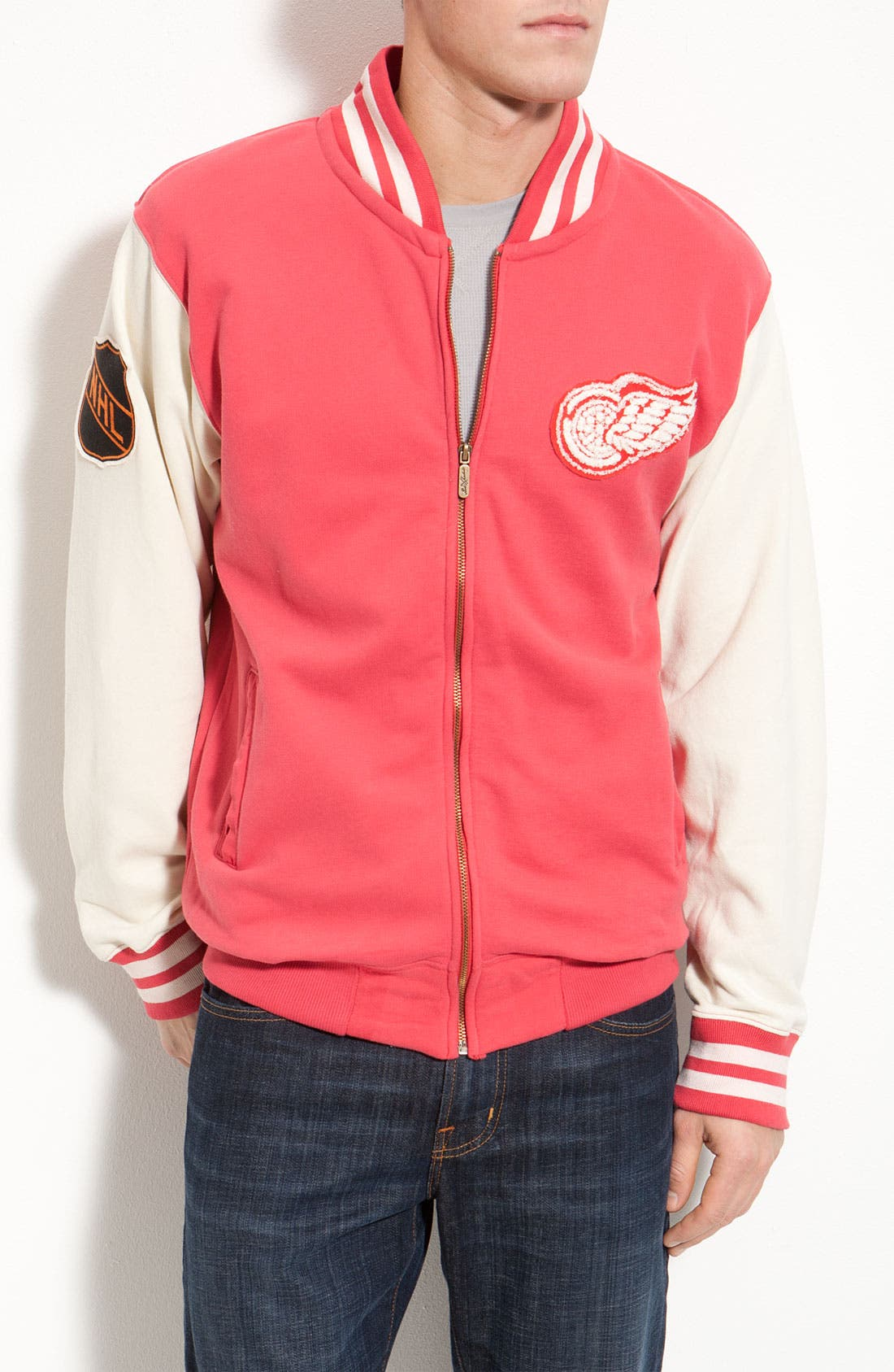 Alternate Image 1 Selected - Red Jacket 'Homeroom Red Wings' Jacket