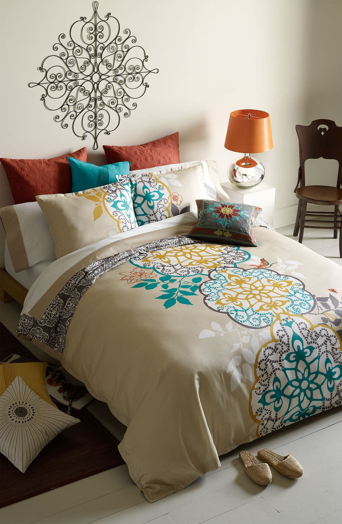 Alternate Image 3  - Blissliving Home 'Shangri-La' 300 Thread Count Duvet Set