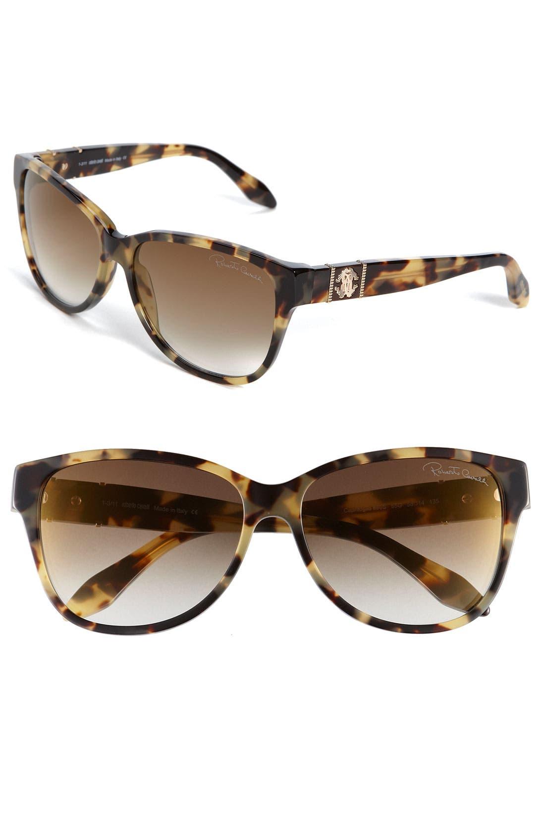 Alternate Image 1 Selected - Roberto Cavalli Cat's Eye Sunglasses
