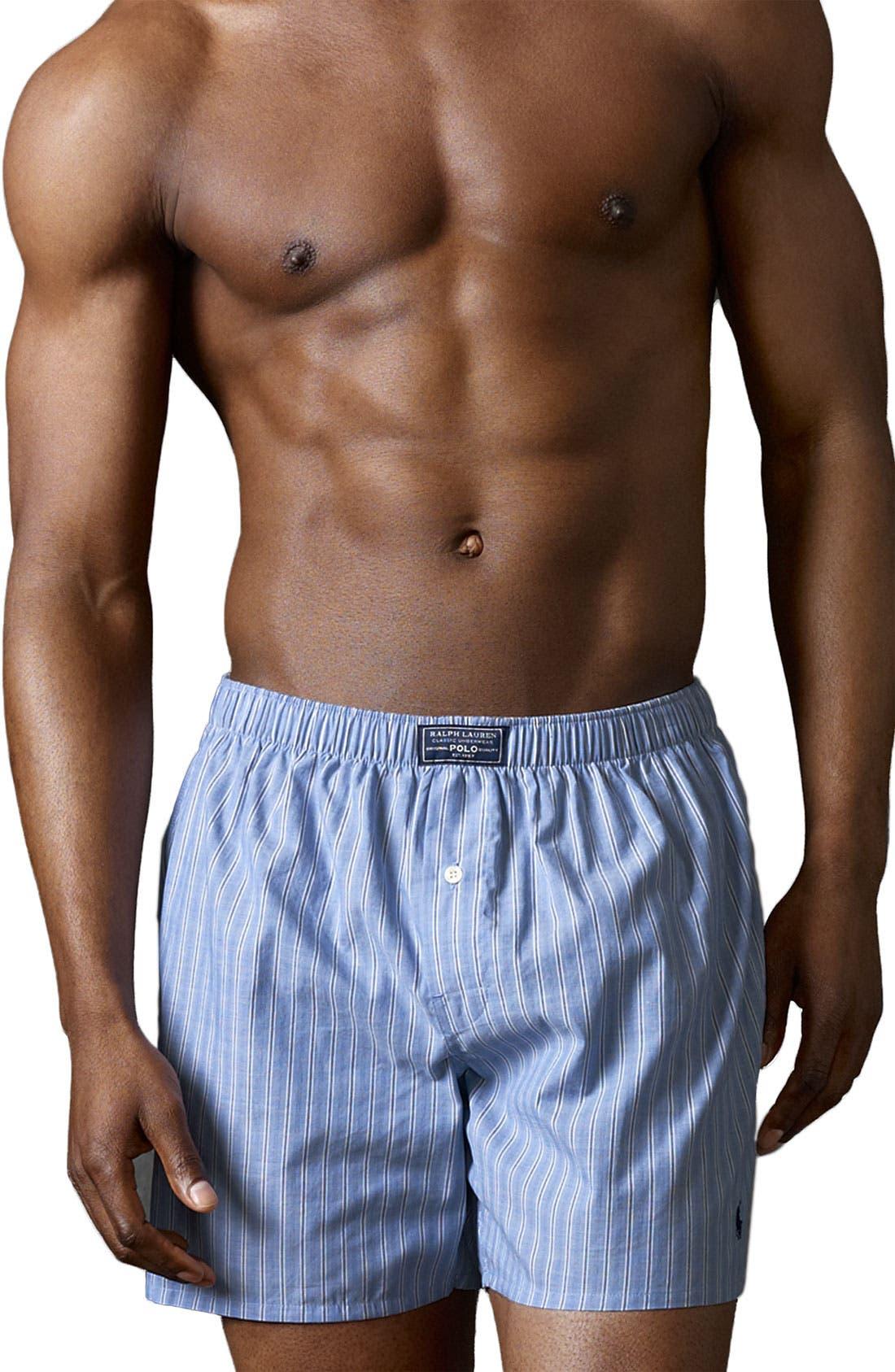 Alternate Image 1 Selected - Polo Ralph Lauren Woven Boxers