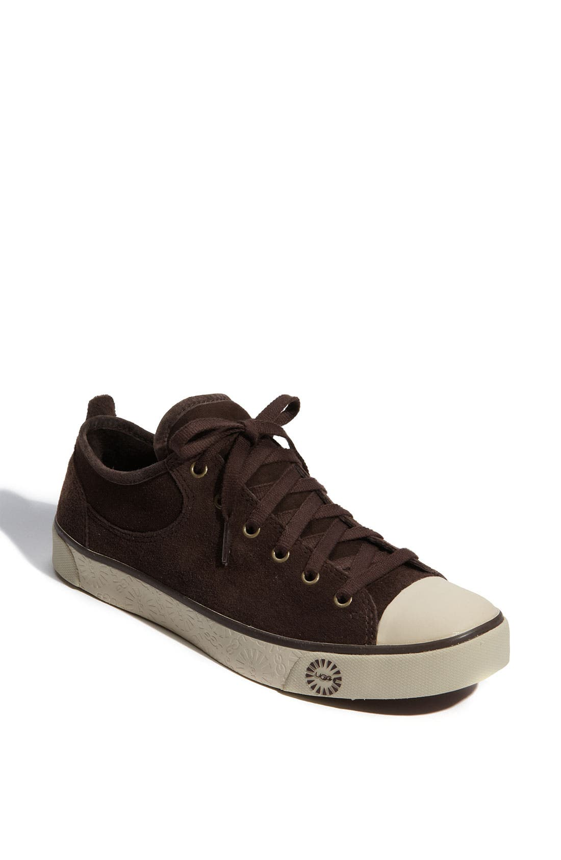 Alternate Image 1 Selected - UGG® Australia 'Evera' Suede Sneaker (Women)