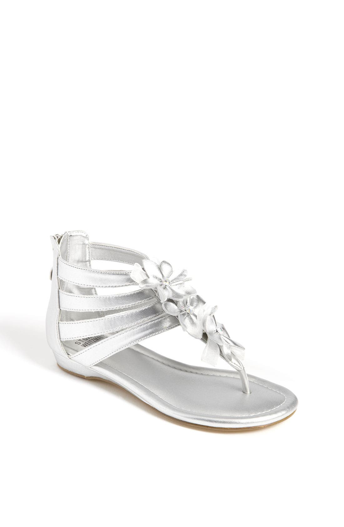 Alternate Image 1 Selected - Stuart Weitzman 'Amore' Sandal (Toddler, Little Kid & Big Kid)