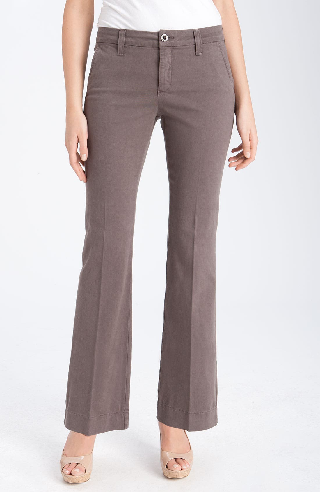 Alternate Image 1 Selected - NYDJ 'Vanessa' Stretch Trousers (Petite)