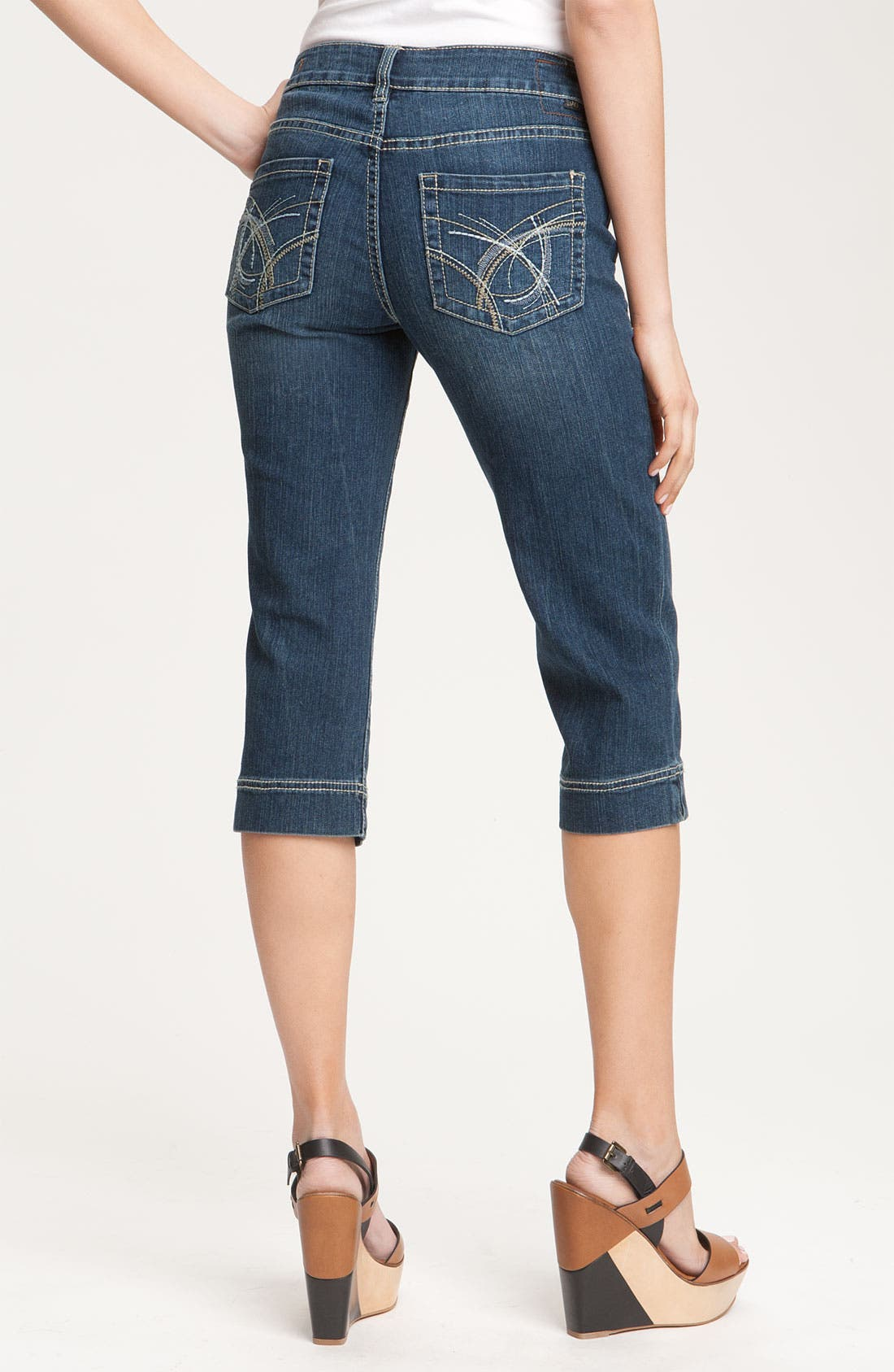 Alternate Image 1 Selected - Jag Jeans 'Selma' Crop Jeans (Petite)