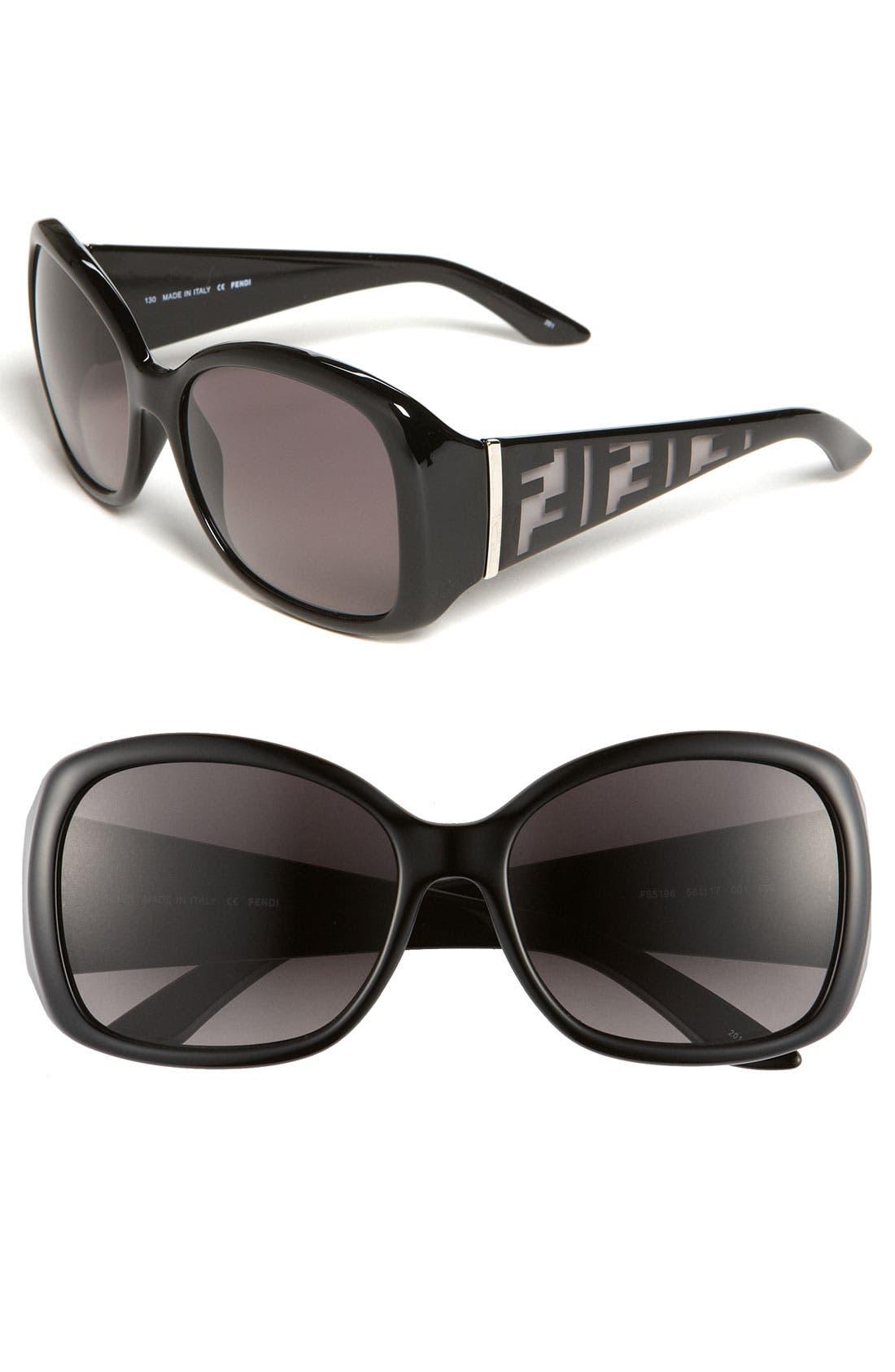Alternate Image 1 Selected - Fendi Oversized Sunglasses