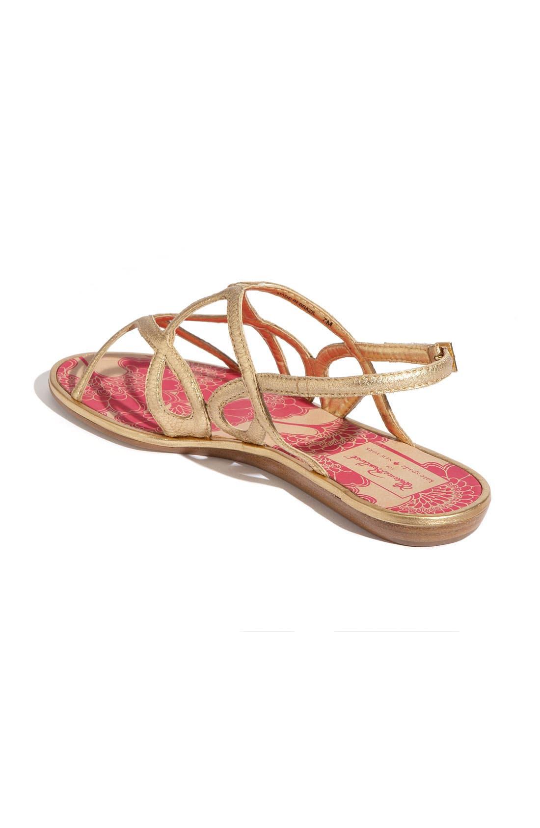 Alternate Image 2  - kate spade new york 'iris' flat sandal