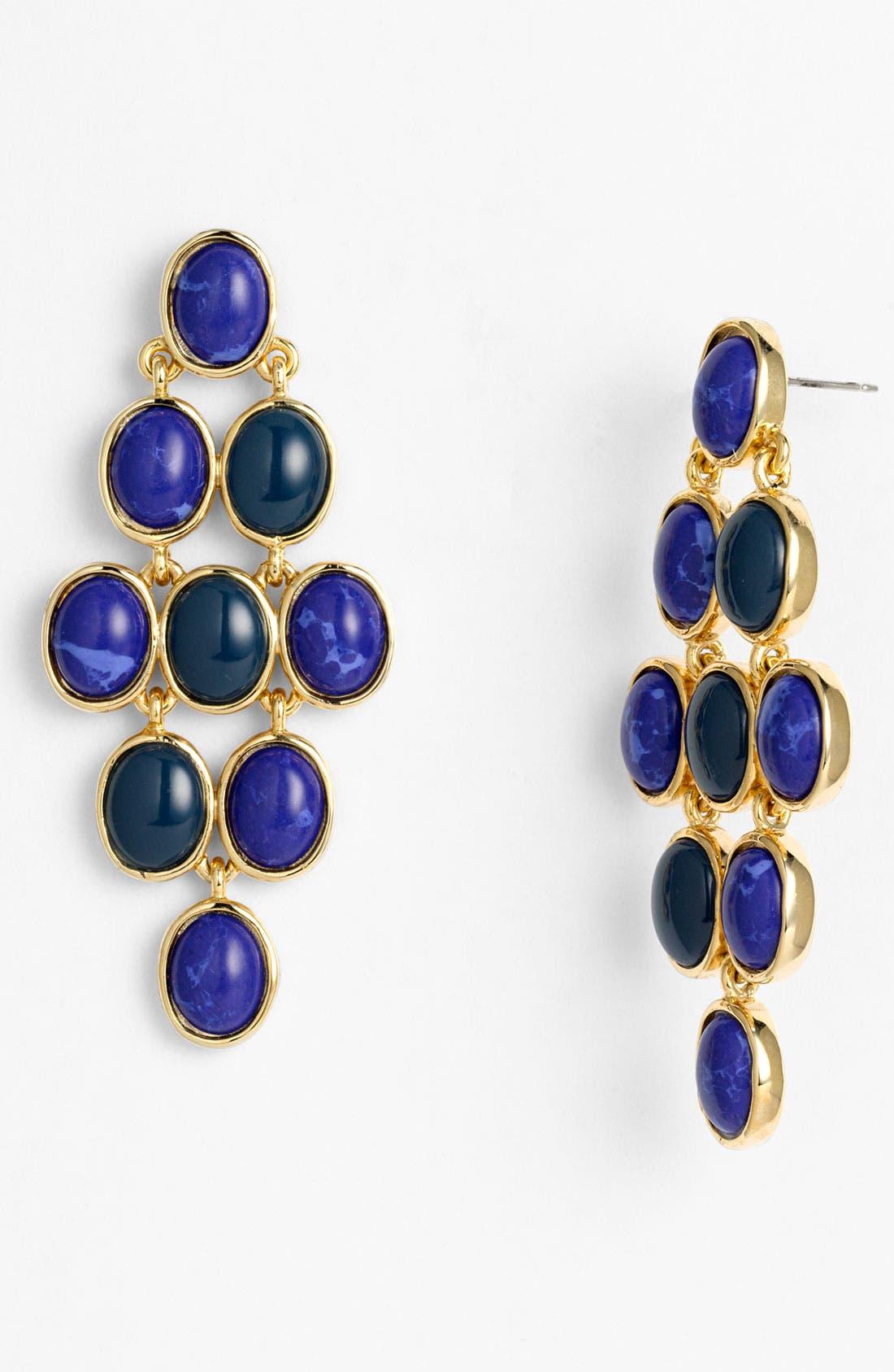 Main Image - Nordstrom 'Lapis of Luxury' Kite Earrings