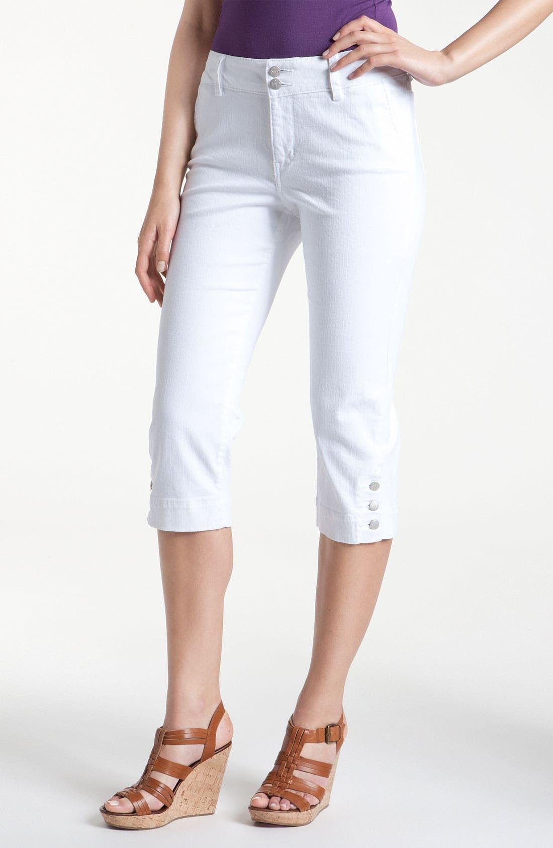 Alternate Image 1 Selected - NYDJ 'Cameron' Crop Stretch Jeans