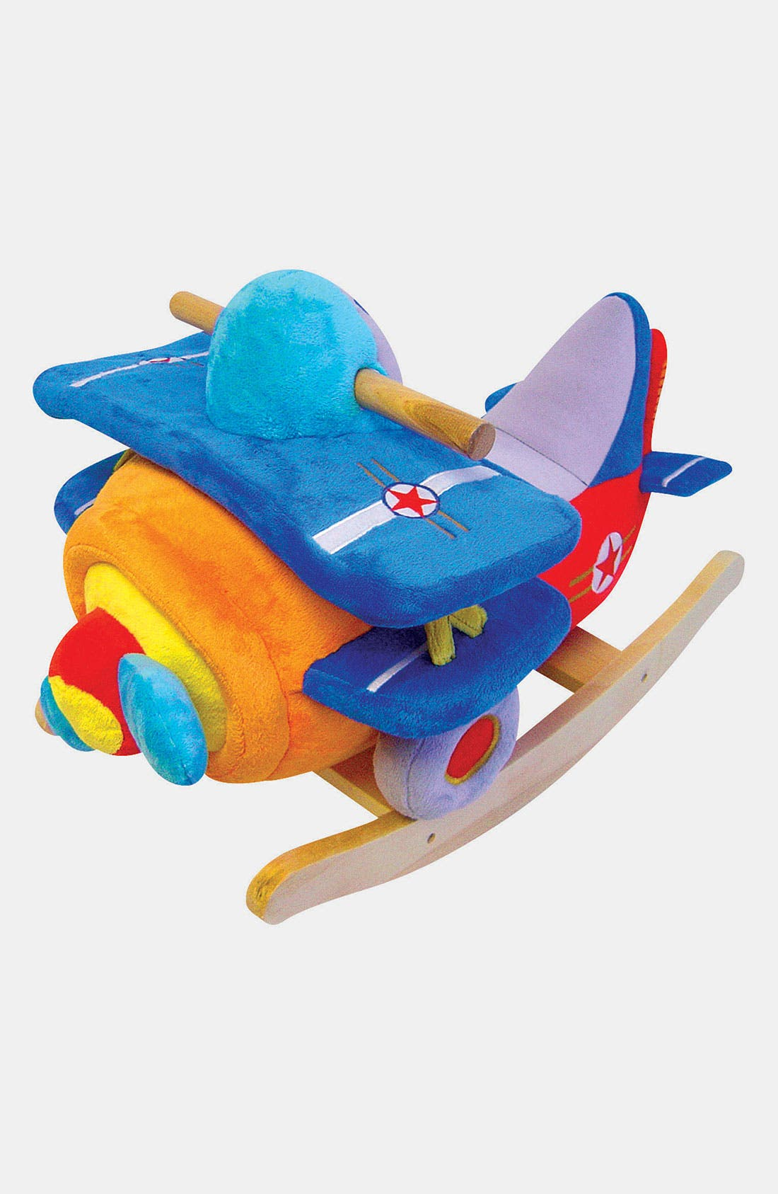 Main Image - Charm Co. 'Bi-Plane' Musical Rocker