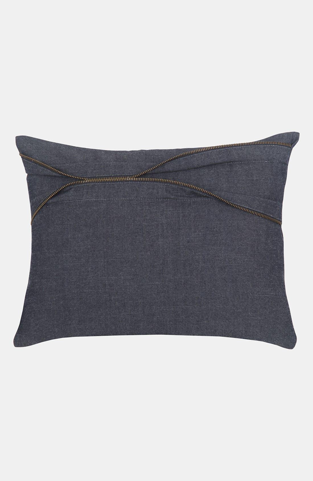 Alternate Image 1 Selected - Blissliving Home Denim Pillow (Online Only)