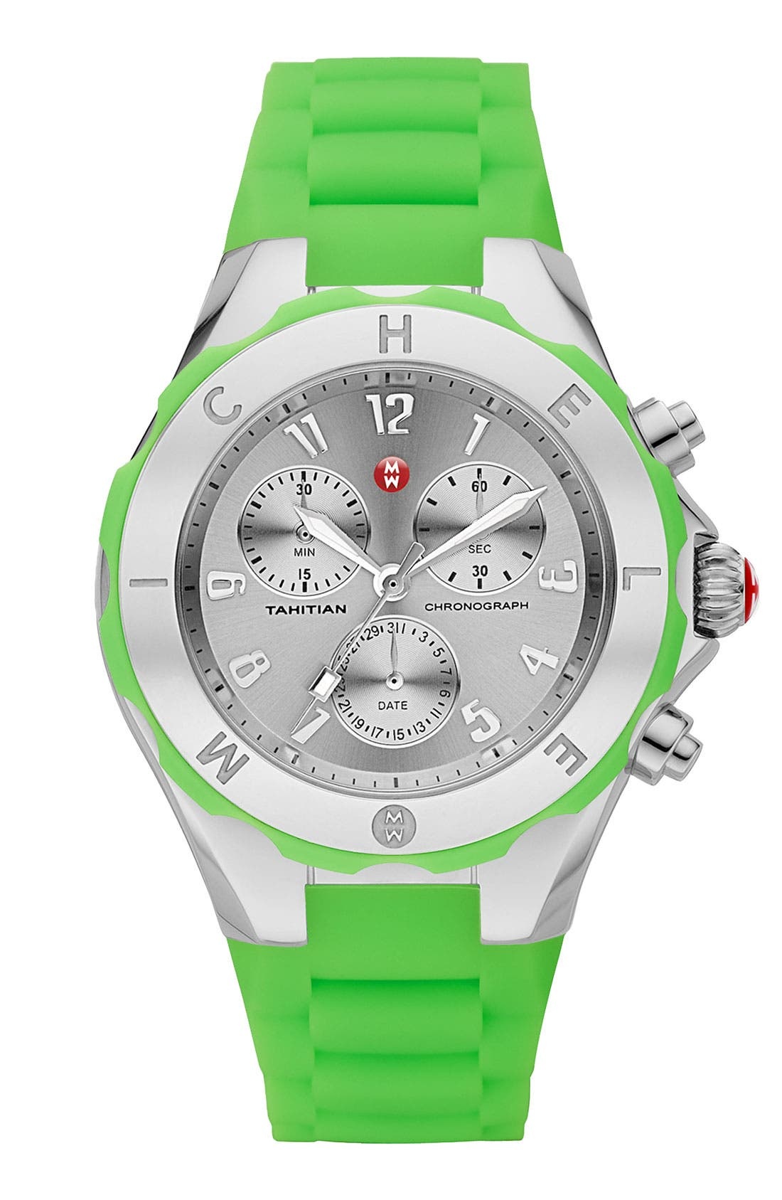Alternate Image 1 Selected - MICHELE 'Tahitian Jelly Bean' Watch, 40mm