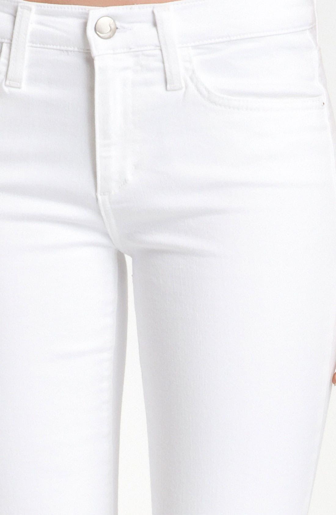 Alternate Image 3  - Joe's Cigarette Leg Stretch Jeans (Jenny)