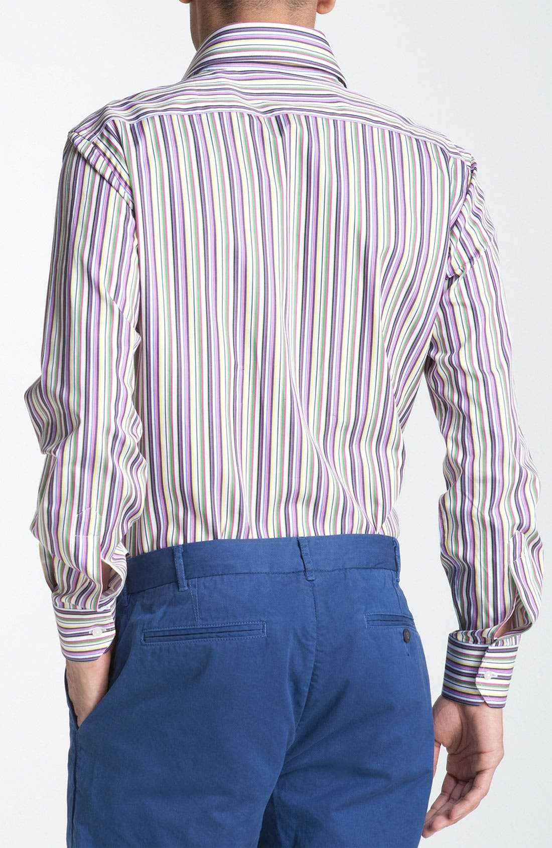 Alternate Image 2  - Etro Stripe Woven Dress Shirt