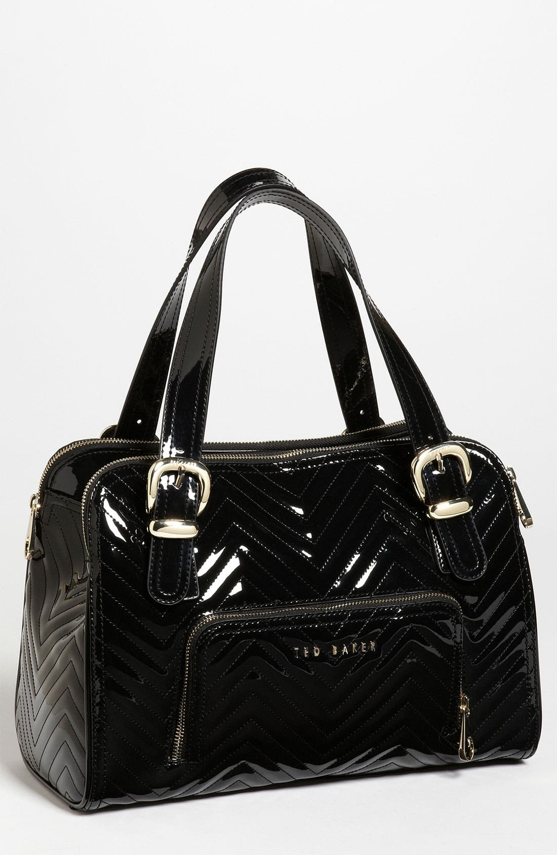Alternate Image 1 Selected - Ted Baker London Quilted Patent Tote