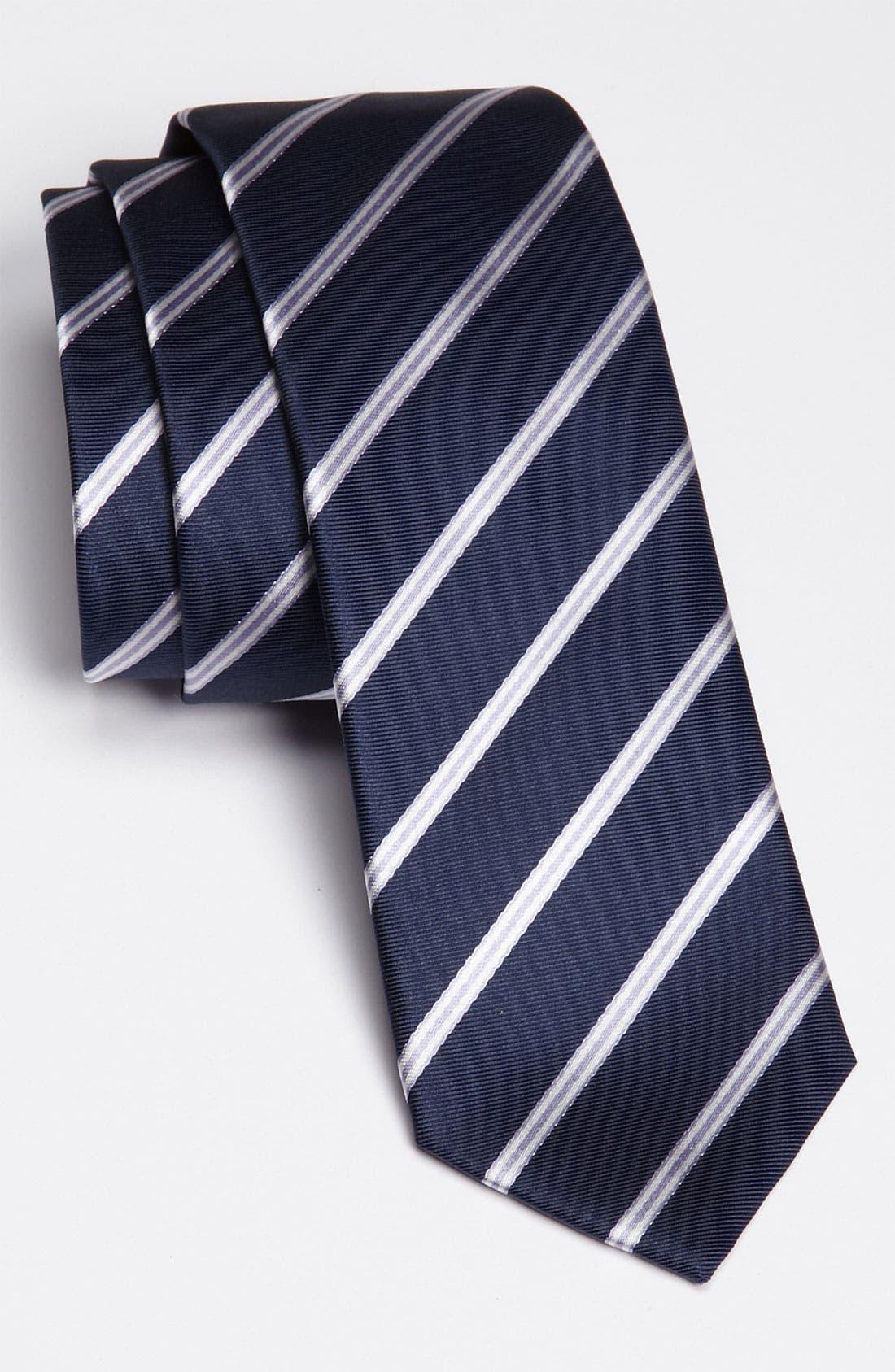Alternate Image 1 Selected - HUGO Woven Silk Tie