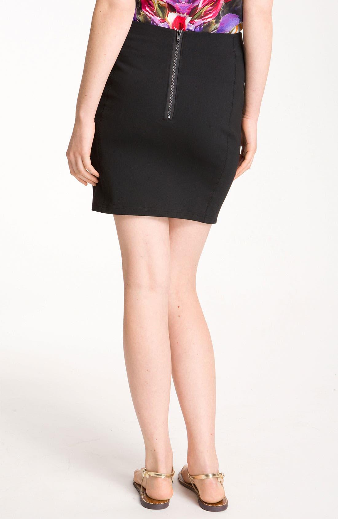 Alternate Image 2  - Trouvé Miniskirt