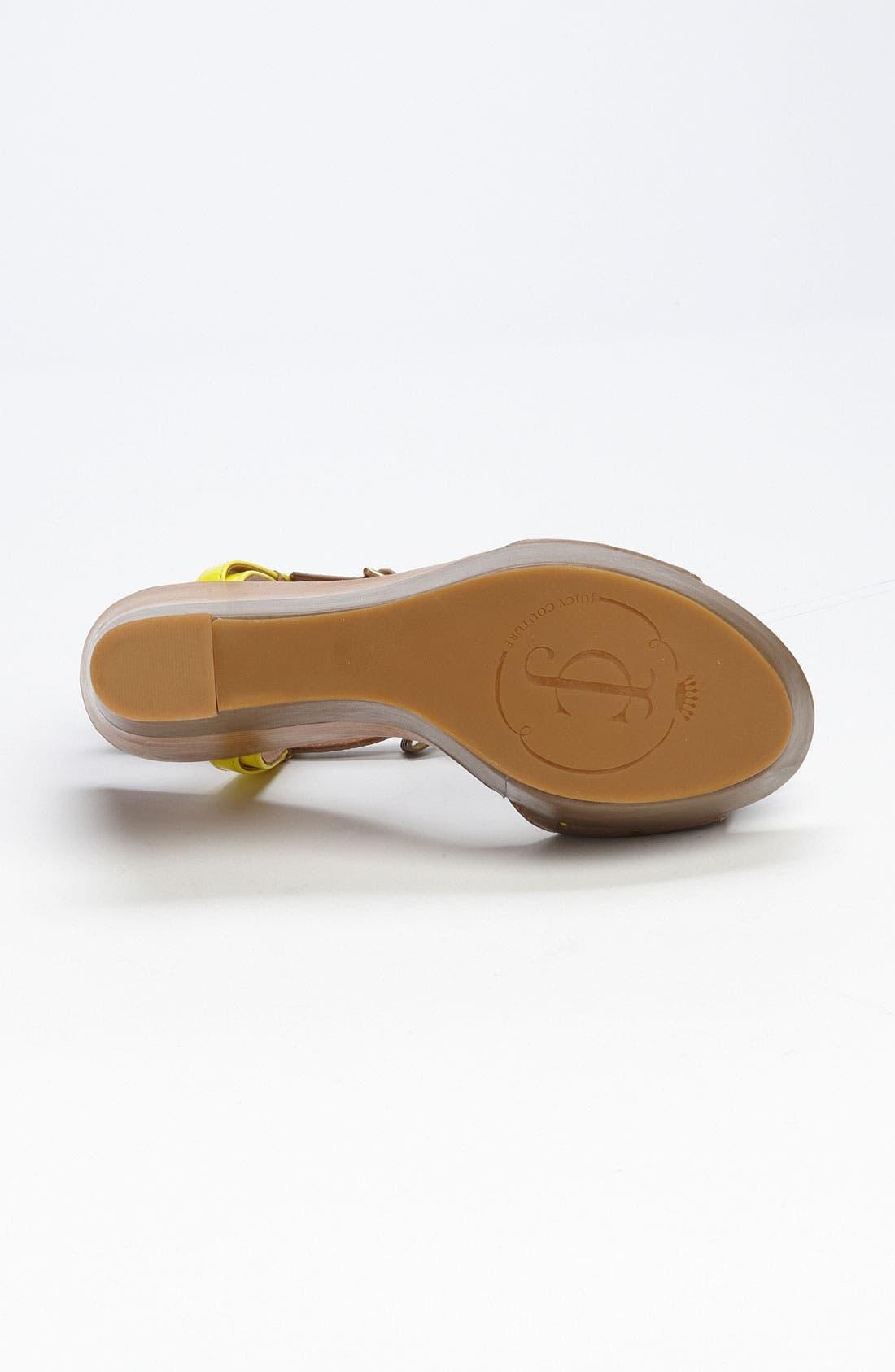Alternate Image 4  - Juicy Couture 'Kati' Sandal
