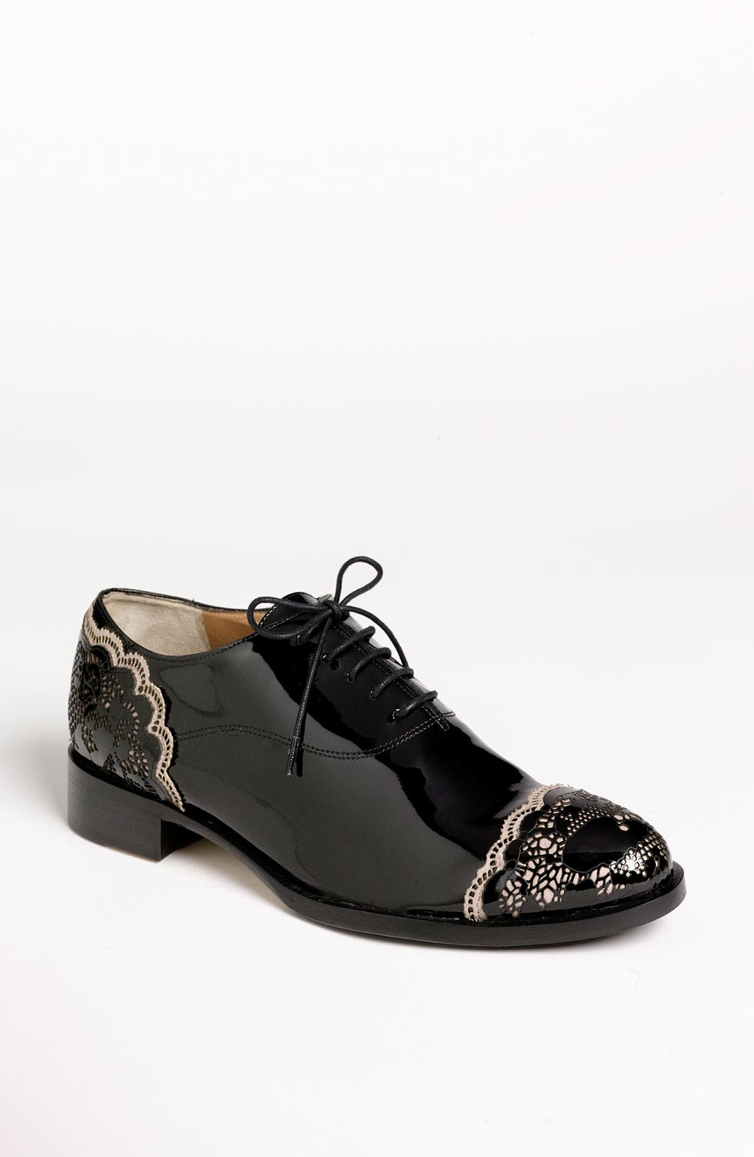 Alternate Image 1 Selected - Valentino 'Lace Art' Oxford