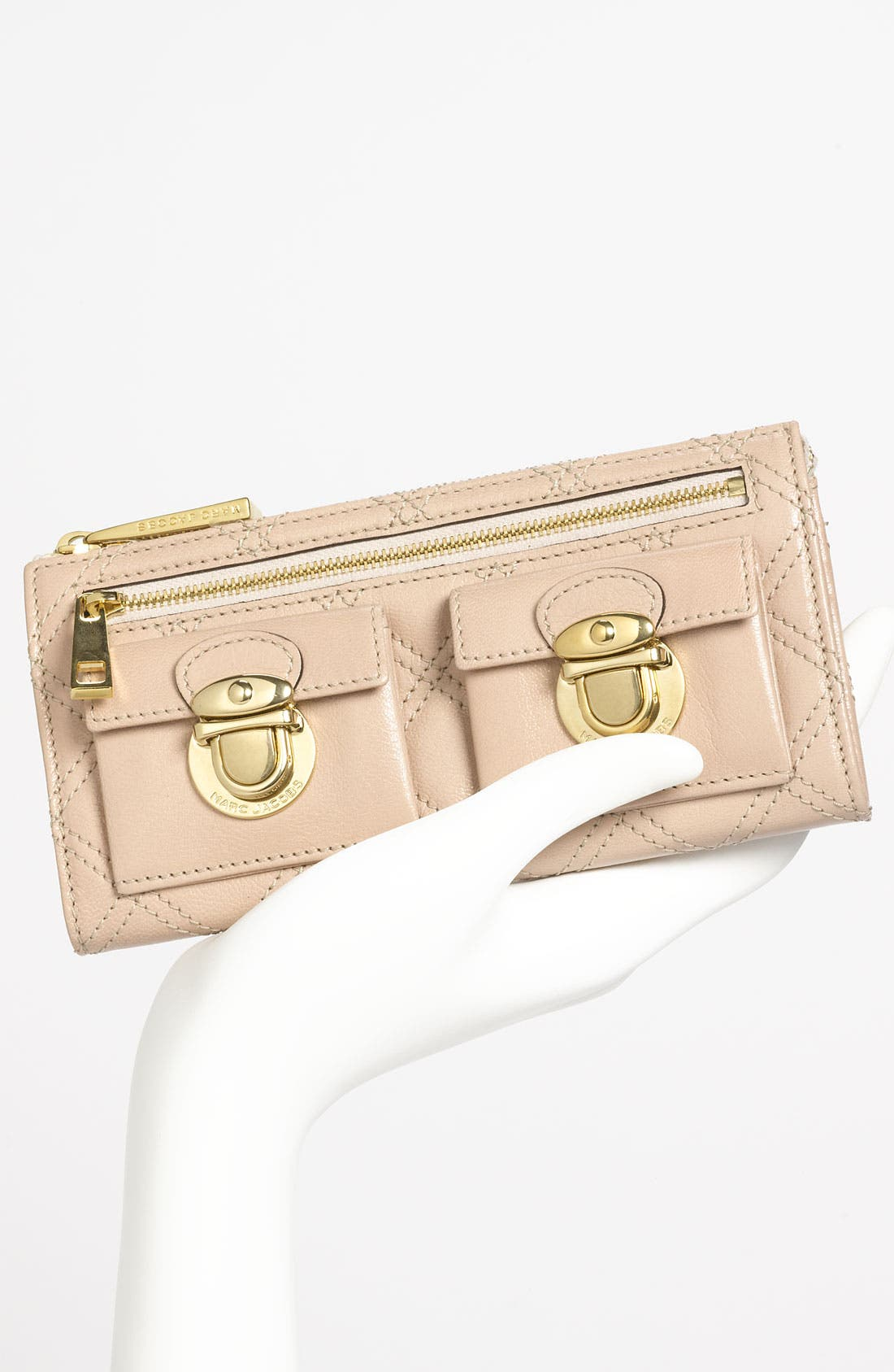 Alternate Image 2  - MARC JACOBS 'Zip Deluxe' Leather Wallet