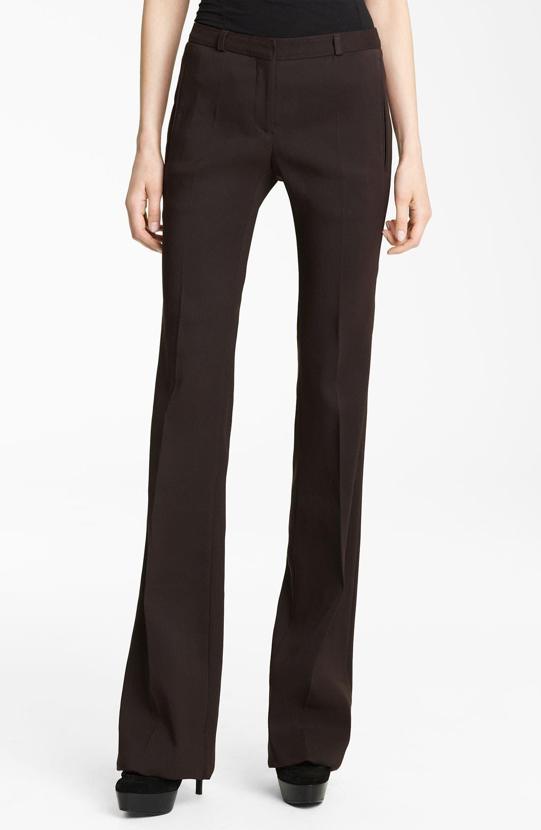 Main Image - Burberry Prorsum Flare Leg Pants